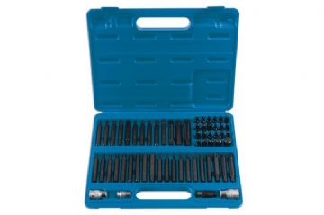 "7012 Professional Bit Set 3/8""D & 1/2""D 60pc"